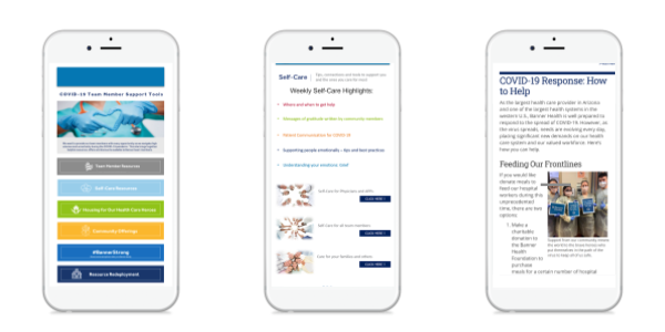 Healthcare Mobi Examples Covid Resources