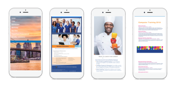 Healthcare Mobi Examples Training